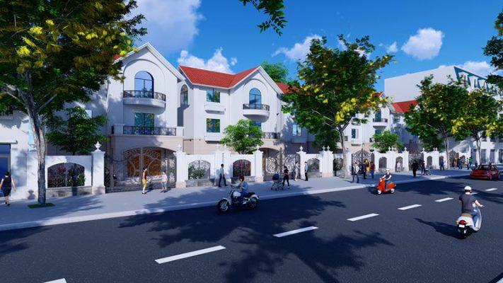 Biệt thự đơn lập Khu đô thị Làng Hoa Tiền Phong