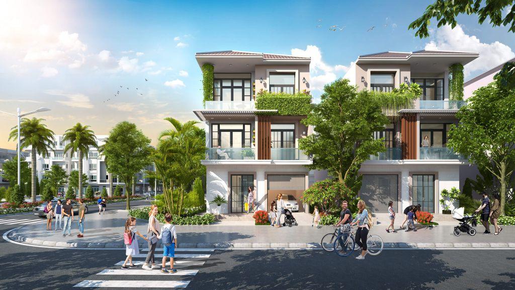 Biệt thự Dự án Hana Garden City Mê Linh