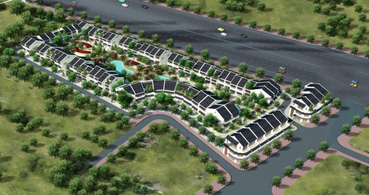 Biệt thự Dự án Khu đô thị Hà Phong Mê Linh