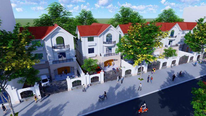 Biệt thự song lập Khu đô thị VinHomes Mê Linh