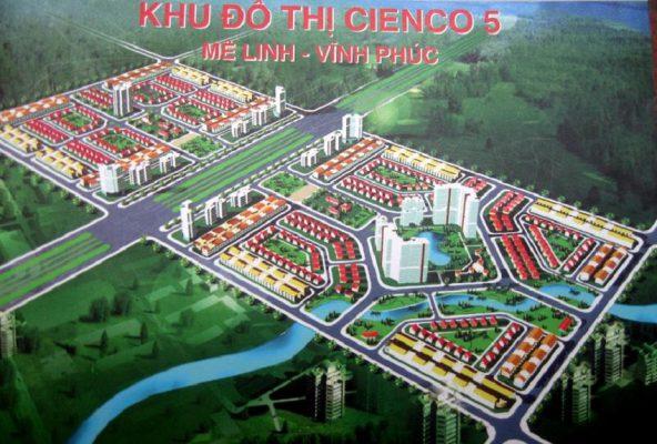 Dự án Khu đô thị Cienco5 Mê Linh