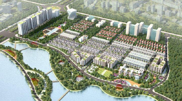 Dự án Khu đô thị Diamond Park New Mê Linh