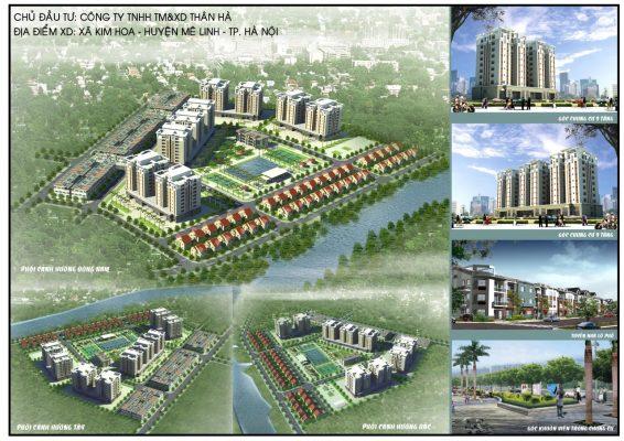 Dự án Khu đô thị Kim Hoa Mê Linh
