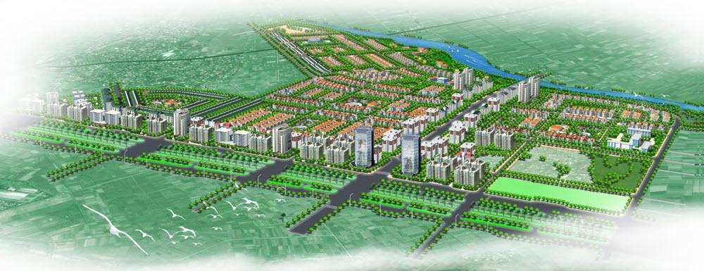 Phối cảnh Dự án Khu đô thị Mê Linh - Đại Thịnh