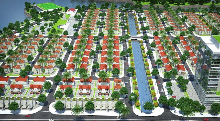 Dự án Khu đô thị Làng Hoa Tiền Phong Mê Linh
