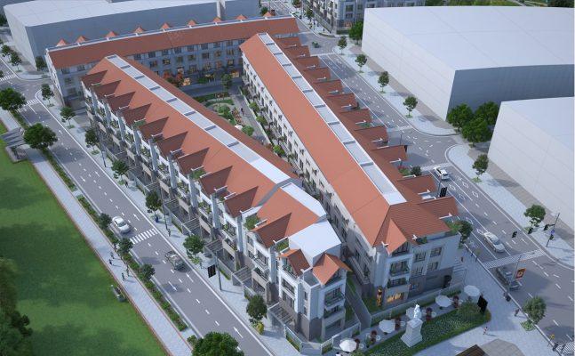 Liền kề Dự án Khu đô thị Hà Phong