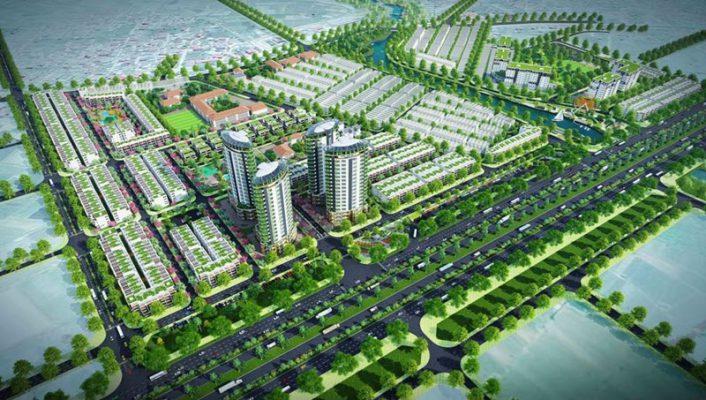 Phối cảnh Dự án Hana Garden City Mê Linh