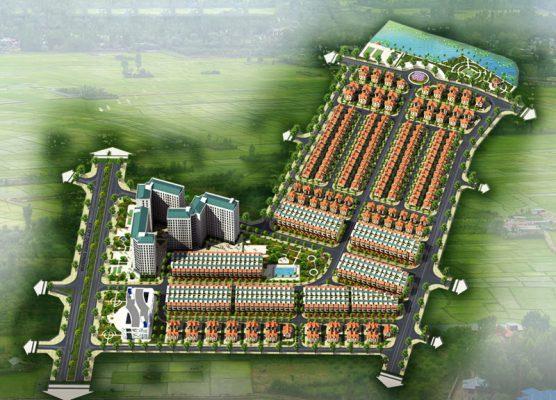 Phối cảnh tổng thể Dự án Khu đô thị Mê Linh Vista City