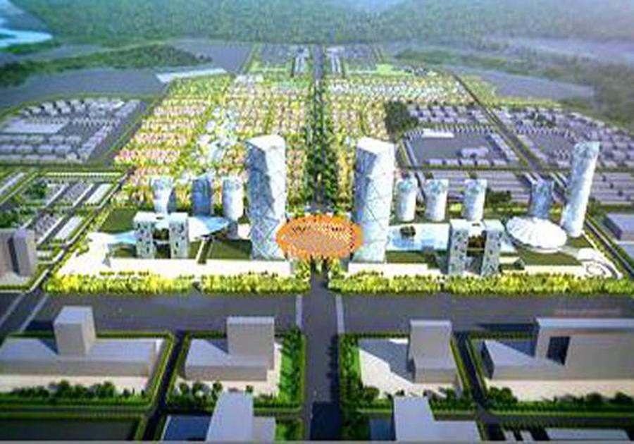 Phối cảnh Dự án Khu đô thị mới AIC Mê Linh