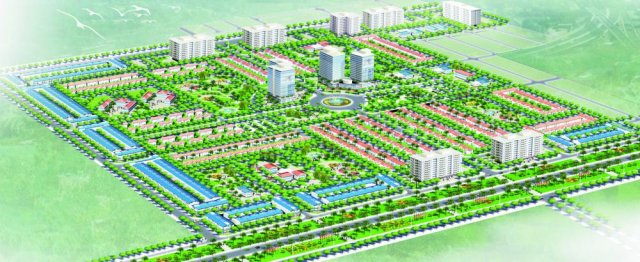 Phối cảnh Dự án Khu đô thị Thanh Lâm - Đại Thịnh 1
