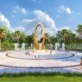 Quảng trường Trung tâm Hana Garden City Mê Linh