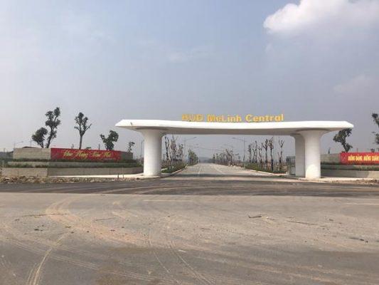 Tiến độ Dự án Khu đô thị HUD Mê Linh Central - Thanh Lâm - Đại Thịnh 2