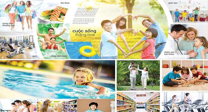 Tiện ích Dự án Khu đô thị Làng Hoa Tiền Phong Mê Linh