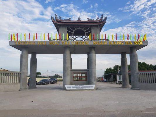 Trường Đại học Tài chính - Ngân hàng Hà Nội tại Khu đô thị Cienco5 Mê Linh