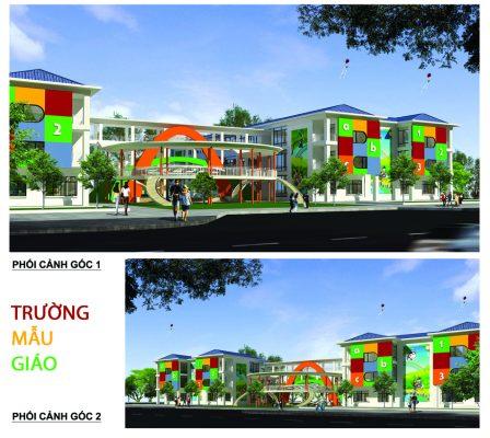 Trường Mầm non Dự án Mê Linh New City