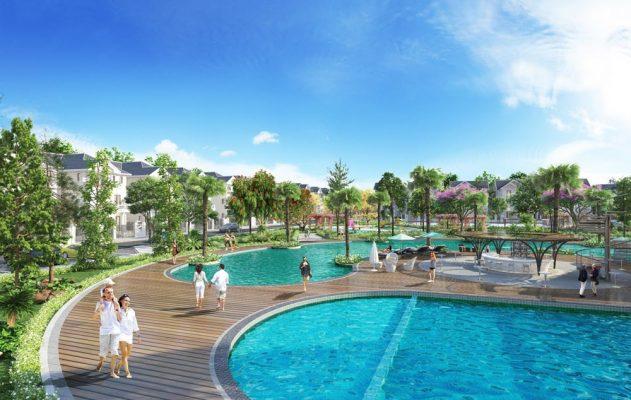 Bể bơi Khu đô thị Times Garden Vĩnh Yên