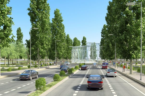Công trình công cộng cấp khu vực, đô thị Khu Đô Thị Kim Đô City Yên Phong Bắc Ninh