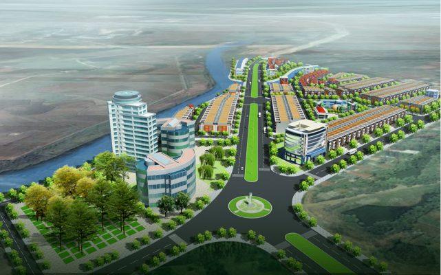 Phối cảnh Dự án Khu đô thị Nam Phúc Yên
