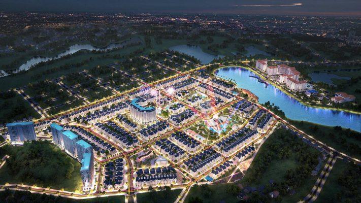 Phối cảnh Dự án Khu đô thị Times Garden Vĩnh Yên