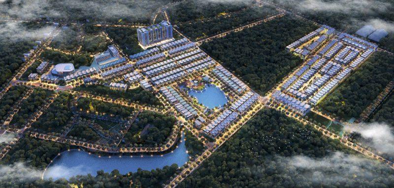 Phối cảnh Dự án Khu đô thị TMS Grand City Phúc Yên