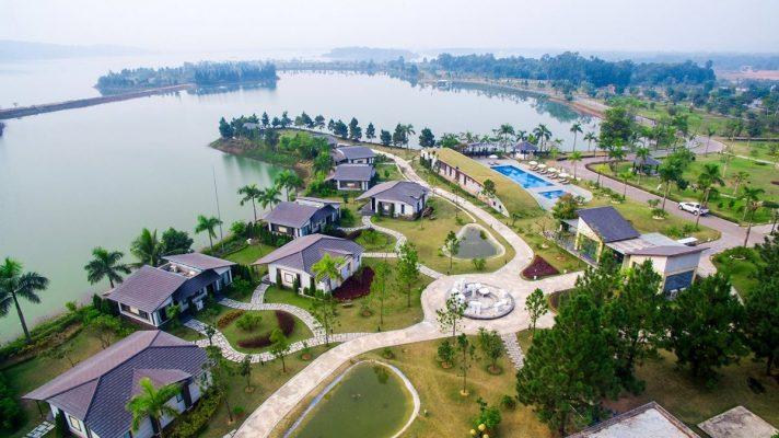 Phối cảnh Dự án Paradise Đại Lải Resort Phúc Yên