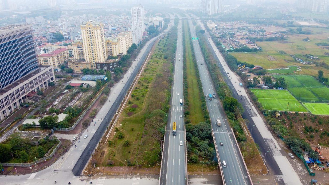 Đoạn đường Vành đai 3.5 từ Đại lộ Thăng Long đến đường 32