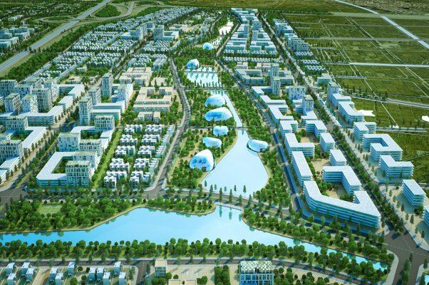 Phối cảnh Dự Án Khu Đô Thị Kim Đô City Yên Phong Bắc Ninh