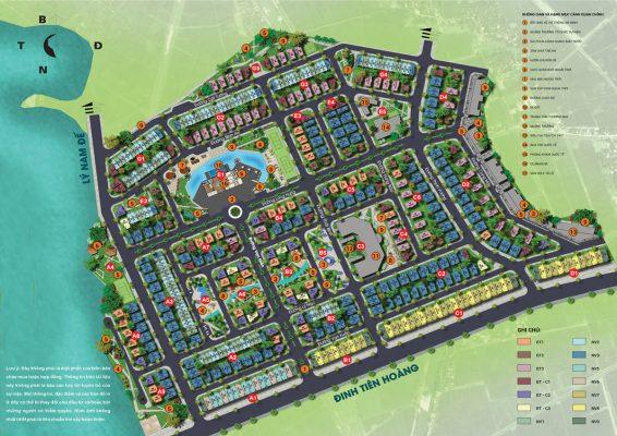Mặt bằng phối cảnh Dự án Times Garden Vĩnh Yên Residences