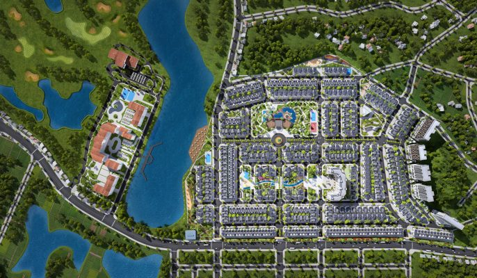 Phối cảnh Dự án Times Garden Vĩnh Yên Residences