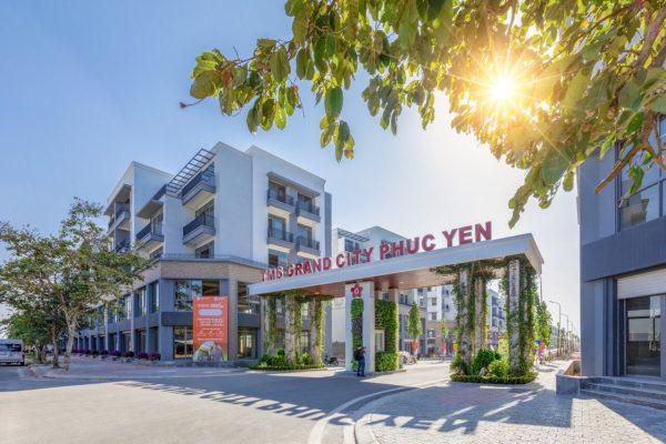 Shophouse Dự án Khu đô thị TMS Grand City Phúc Yên