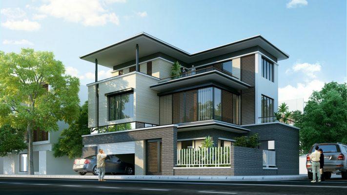 Thiết kế nhà biệt thự Dự án Khu đô thị Việt Đức Legend City Bình Xuyên