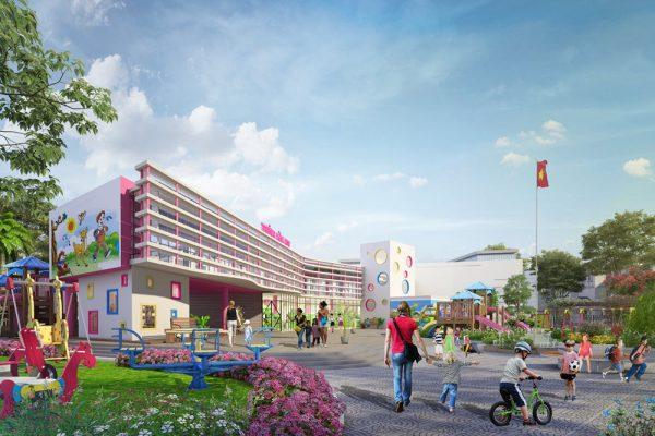 Trường học Khu đô thị Times Garden Vĩnh Yên