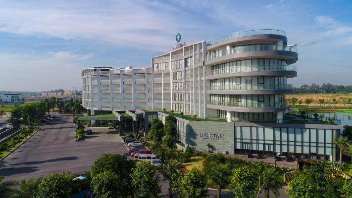 Khách sạn Dic Star tiêu chuẩn 4 sao Khu đô thị Nam Vĩnh Yên hiện tại