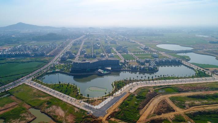 Tiến độ Dự án Khu đô thị Nam Vĩnh Yên