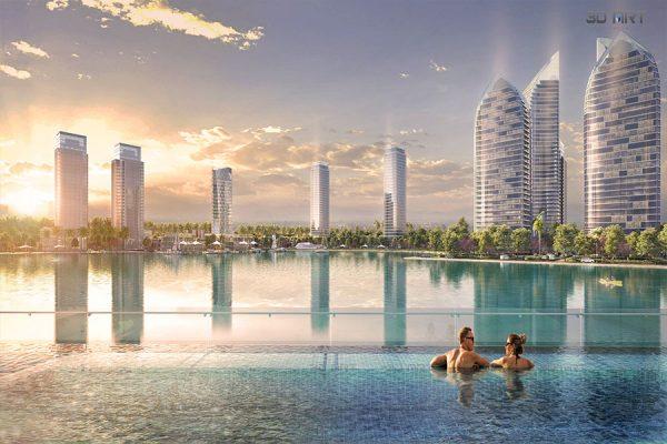 Bể bơi vô cực Khu đô thị TMS Vĩnh Yên