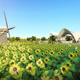Công viên Dự án Khu đô thị Thanh Sơn Riverside Garden Phú Thọ