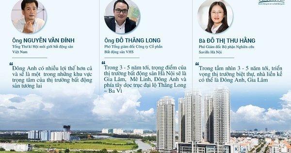 Đánh giá của các chuyên gia về thị trường bất động sản Đông Anh