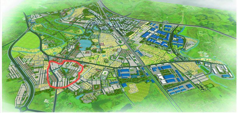 Dự án Khu đô thị Hùng Vương Tiền Châu Phúc Yên