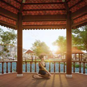 Khu tập Gym - Yoga Dự án Khu đô thị Thanh Sơn Riverside Garden Phú Thọ
