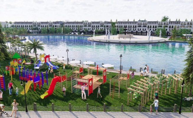 Môi trường sống xanh sinh thái thuần khiết tại dự án Vĩnh Yên Center City