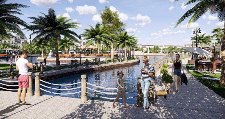 Vĩnh Yên Center City có thêm nhiều không gian công cộng