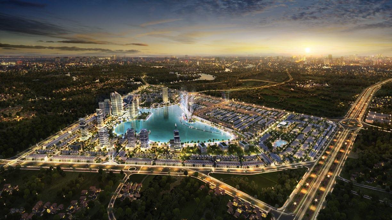 Phối cảnh Dự án Khu đô thị TMS Homes Wonder World Vĩnh Yên