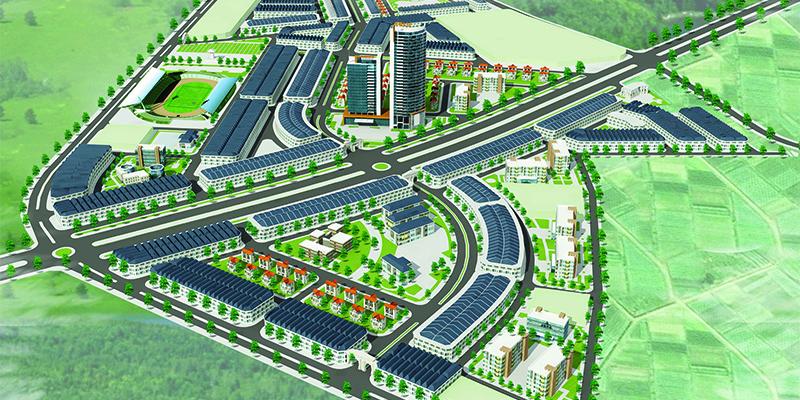 Dự án Khu đô thị Yên Lạc Dragon City