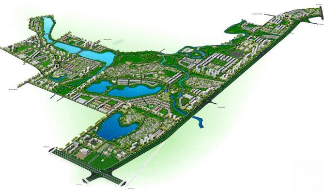 Quy hoạch phân khu B2 tỷ lệ 1/2000 Khu vực phát triển đô thị, dịch vụ tại thành phố Vĩnh Yên, huyện Yên Lạc và huyện Tam Dương, tỉnh Vĩnh Phúc