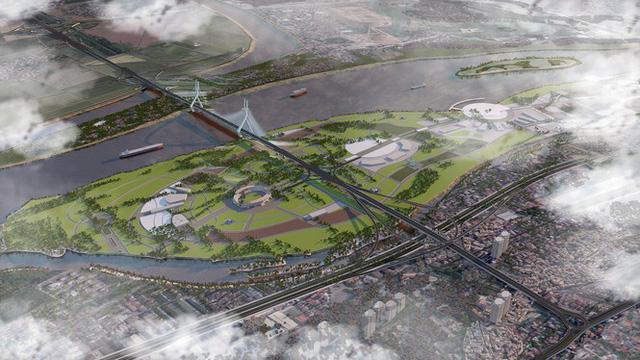 Quy hoạch Cầu Tứ Liên qua sông Hồng nối liền quận Tây Hồ và Đông Anh