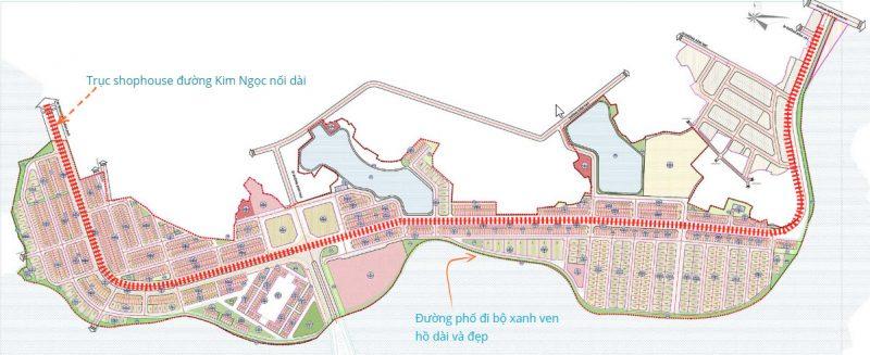 Quy hoạch Khu đô thị sinh thái Bắc Đầm Vạc Vĩnh Yên