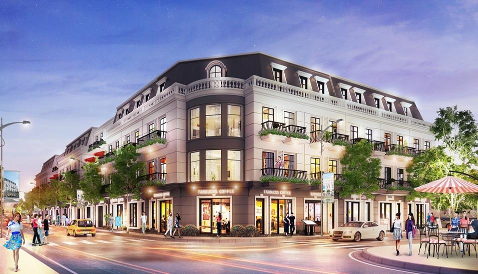 Shophouse Dự án Khu đô thị Vĩnh Yên Center City
