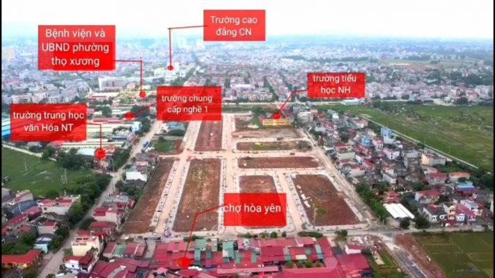 Tiến độ Dự án Khu đô thị Nam Hồng New City Bắc Giang