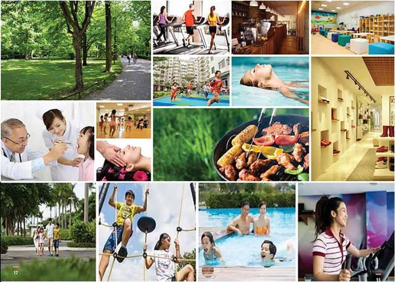 Tiện ích Dự án Khu đô thị Nam Hồng New City Bắc Giang