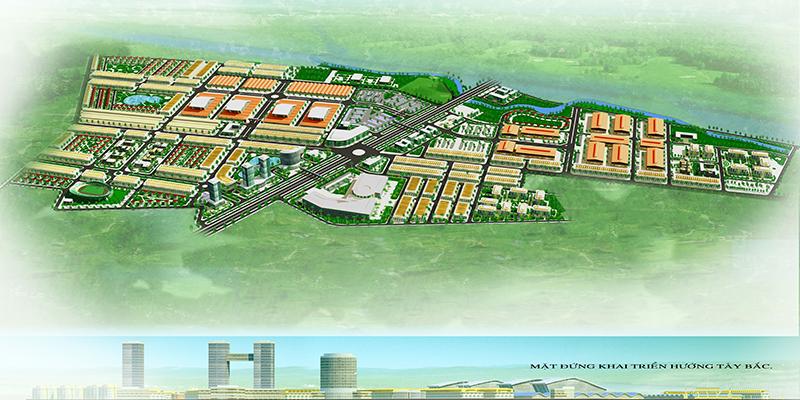 Dự án Khu chợ đầu mối Thổ Tang, Khu đô thị thương mại Vĩnh Tường Vĩnh Phúc